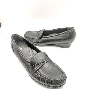 SAS Easier 11 slim Black Loafers Tripad Comfort
